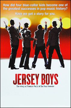 Jersey Boys the Musical Broadway  Poster $17.95