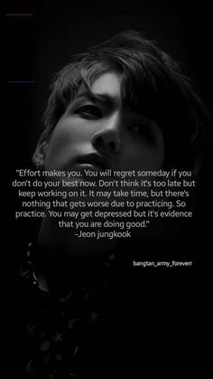And he's just 21 - Trend Bts Quotes 2020 Mood Quotes, True Quotes, Motivational Quotes, Inspirational Quotes, Inspirational Paragraphs, Bts Lyrics Quotes, Bts Qoutes, Bts Citations, Bts Wallpaper