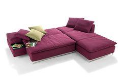 Das Isla Schlafsofa als Eckgruppe von Signet. The Isla sofabed as corner sofa from Signet.