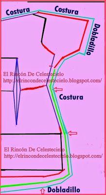 El Rincon De Celestecielo: PARA ESCOTE, Q QUEDE SOBRE UN HOMBRO AL AIRE Y EL OTRO NO....