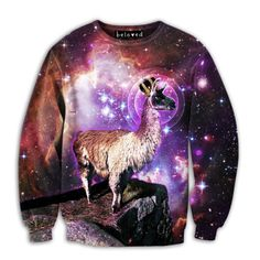 A sweater for a real man.