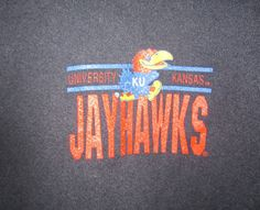 University of Kansas Jayhawks Black sweatshirt XL USA free shipping    #CollegiatePacific #KansasJayhawks