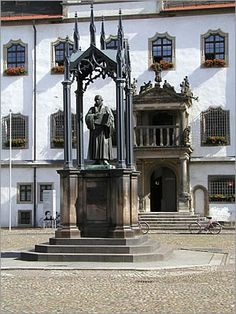Luther Monument in Wittenberg