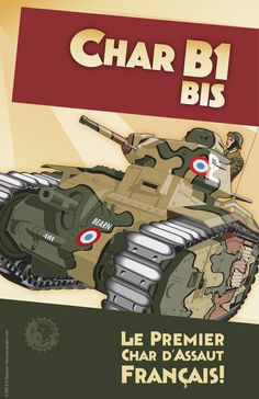 f06c4aa973935 The French Char B1Bis was far superior to any German tank in 1940.  Unfortunately
