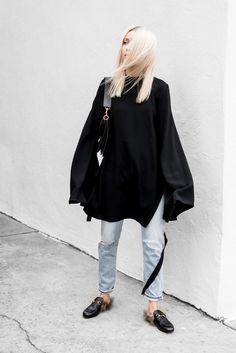 figtny.com | Bold Sleeves & Blue Jeans