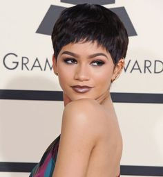 Zendaya, Please Cut Your Hair Like This For Real