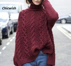 длинный свитер спицами