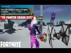 ALL Tie Crash Sites Fortnite Locations |Where To Raise Your Banner To Capture TIE Fighter Crash Site - YouTube Fortnite Season 11, Tie Fighter, Raising, Banner, Challenges, Comic Books, Seasons, Youtube, Picture Banner