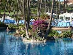 My version on heaven. One of the many pools at the Grand Wailea in Maui.