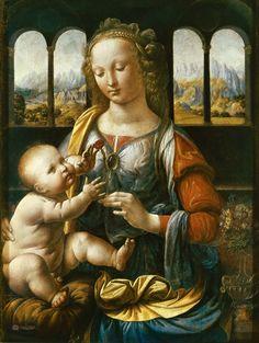 Leonardo Da Vinci: Szegfűs Madonna