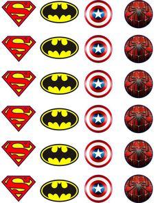 superhero birthday party printables free