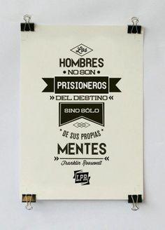 los hombres no son prisioneros .....