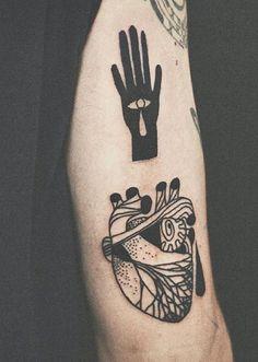 Tarmasz heart tattoo