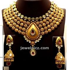 Gitanjali jewellers Gold Necklace models - Latest Jewellery Designs