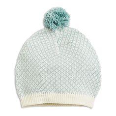 Knitted Cap Aqua