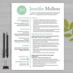 Teacher Resume Templates Are Designed Specifically With Educators In Mind.  All Templates Are Are Loaded With Education Related Verbiage And Sample  Text And ...