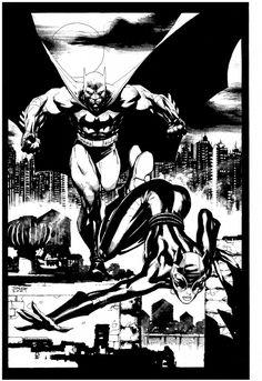 Batman & Catwoman   Jim Lee   #BATMAN