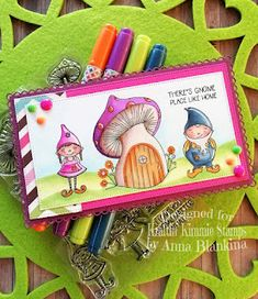 Blankina creations: Gnome place like home Wednesday inspirational post