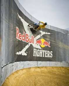 Defying gravity in the quest for glory!. #redbull