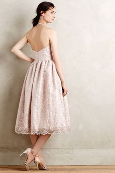Anthropologie's New Arrivals: Fancy Summer Dresses - Topista