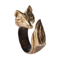 Animals - 3D Forms - Red Fox Ring