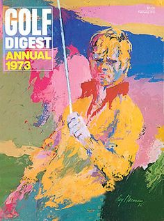 February, 1973 - Golf Digest Annual: Featuring Portrait Of Jack Nicklaus Painting By LeRoy Neiman. -Golf Digest