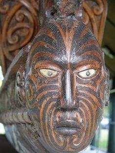Te Arawa waka. Flickr. Maori war canoe , Maori Face Tattoo, Once Were Warriors, Polynesian People, Maori Designs, Maori Art, National Museum, First Nations, Tribal Art, New Zealand