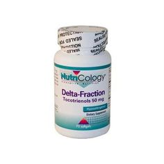 NutriCology Delta-Fraction Tocotrienols - 50 mg - 75 Softgels