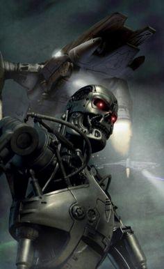 Terminator by Norbert Vakulya