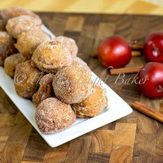 Easy apple cider donuts! Yummmm!! Or I can go to weavers orchard.