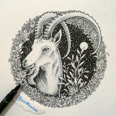 Throwback Thursday - Goat #throwback #goat #artcollective2015 #tattoopins…