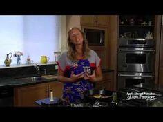 Gluten-Free Apple Almond Pancakes Cooking Demo | GlutenFreedomProject.com