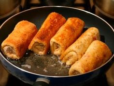 Dairy foods aren't immediately associated with Hanukkah, but Syrian Jews prepare delicious cheese-filled pancakes called atayef for the Festival of Lights. These filled, syrup-soaked delicacies honor … Lebanese Recipes, Israeli Recipes, Israeli Food, Eastern Cuisine, Exotic Food, No Dairy Recipes, Polish Recipes, Middle Eastern Recipes, Arabic Food
