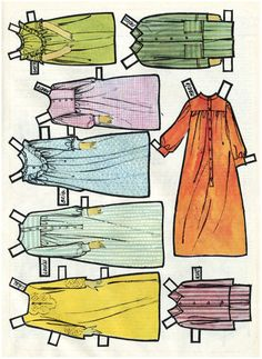 The Sound Of Music * Free paper dolls at Arielle Gabriel's The International Paper Doll Society