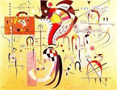 Milieu Accompagné (1937) by Wassily Kandinsky
