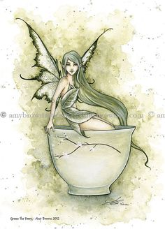 Fairy Art Artist Amy Brown: The Official Online Gallery. Fantasy Art, Faery Art, Dragons, and Magical Things Await. Beautiful Fantasy Art, Beautiful Fairies, Woodland Creatures, Mythical Creatures, Elfen Fantasy, Amy Brown Fairies, Unicorns And Mermaids, Fairy Pictures, Fantasy Kunst