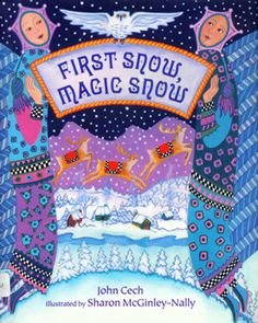 A sprightly adaptation of the Russian story of the snow maiden, this picture book glows with love of winter and children. When a childless woodsman shapes a mound of the first snow into the form of a child, she comes to life, and he carries her home to his wife bundled in his coat… John Cech's text is a rare blend of sweetness and vigor.