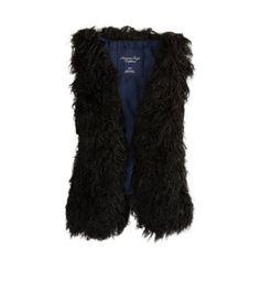 AE Shaggy Faux Fur Vest