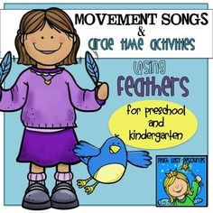 Movement+Songs+Using+Feathers+for+Preschool+and+Kindergarten+-+Teach+Easy+Resources+from+Teach+Easy+Resources+on+TeachersNotebook.com+-++(16+pages)++-+This+pack+includes+10+different+songs+to+be+sung+using+feathers+as+props!++Fun+collection+for+spring+or+summer!++Comes+with+images+to+be+used+as+puppets,+as+well+as+other+props!