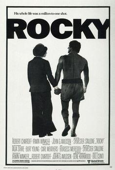 Watching all the Rocky films one after another and currently up to Rocky IV. So far the first three had made a satisfying trilogy and if the story stopped there I would be happy. However now I'm entering what people are telling me is the crap half of the films (Rocky IV and V, apparently Rocky Balboa is pretty good.) Here's to hoping they don't ruin it for me.