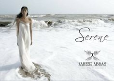 Zaheer Abbas White Dresses 2013 For Women