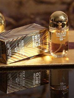 Economize até 90% são mais de 200 opções de perfumes 🥰 Brand Collection são perfumes importados inspirados em perfumes de grifes internacionais Duração: entre 6 e 8 horas. Volumetria: 25 ml Estamos a disposição 😍 #brandcollection #perfumescontratipos #perfumesfemininos Brand Collection, Decanter, Designer Perfume, Community, Bag Packaging, Carafe