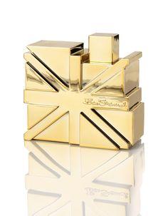 Ben Sherman Gold - the new fragrance for men. Cool bottle no? Ben Sherman, New Fragrances, Touch Of Gold, Packaging, Bottle, Flag, London, Beautiful, Men