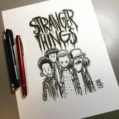 Stranger Things. Original available http://skottieyoungstore.bigcartel.com…