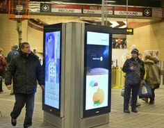 The Massachusetts Bay Transportation Authority awarded a new advertising contract on Tuesday aimed at boosting digital advertising revenue and improving the customer experience.