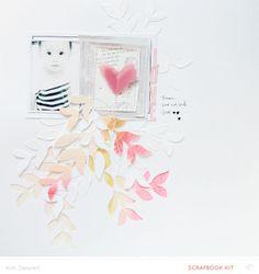 #papercraft #scrapbook #layout  love by neroliskye at @Studio_Calico