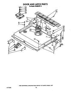 Whirlpool Dishwasher Parts & Accessories Home & Garden #