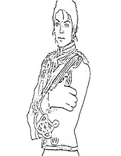 printable michael jackson coloring pages for kids enjoy coloring