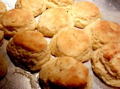 Flaky Buttermilk Biscuits - can make as donuts by frying in oil and drizzling with frosting The Chew Recipes, Cooking Recipes, Bread Recipes, Kefir Recipes, Cat Recipes, Cooking Videos, Yummy Recipes, Cooking Tips, Healthy Recipes