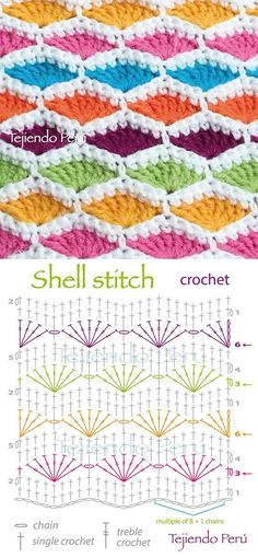 Free charted crochet patterns! :)